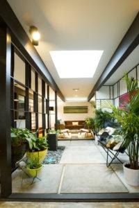 atrium remodel